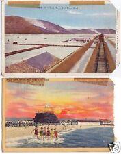 2 Salt Bag Postcards Beach & Beds Salt Lake City Utah