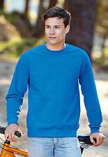 New Fruit Of The Loom Set In Sleeved Sweatshirt Jumper