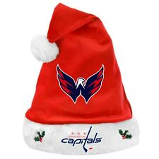 Washington Capitals NHL 2012 Christmas Santa Hat - Plush Winter Apparel
