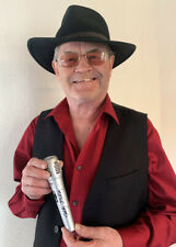 MICKY DOLENZ DIRECT! MICROPHONE SIGNED BY MICKY WITH SONG TITLE  * THE MONKEES