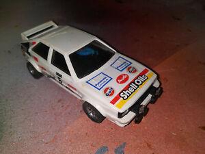 Scalextric 4 x 4 Dakar Off Road Rally Type Audi Quatro Slot Car