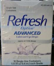 REFRESH Optive Advanced Lubricant Eye Drops 0.01 Oz 30 Count