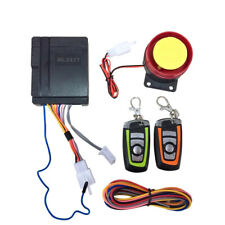 Motorcycle Scooter ATV Security Alarm System Anti-theft Remote Control Start 12V