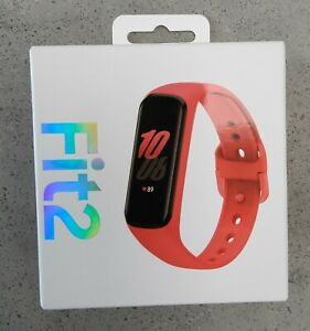 Samsung Galaxy Fit2 Activity Tracker - Scarlet Red Brand New Boxed 3