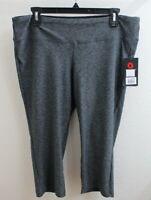 New Balance Women's Size XL Sport Space Dye Capri Grey Leggings NWT 01