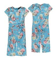 Girls Firetrap Crew Short Sleeves Lightweight Jumpsuit Sizes Age from 2 to 7 Yrs