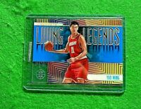 YAO MING LIVING LEGENDS PRIZM CARD HOUSTON ROCKETS 2019-20 PANINI ILLUSIONS