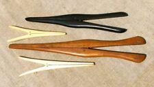New listing 4 Vintage Glove Stretchers, Maple, Ebony, Bone, Ivroid