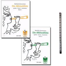 Manfredo Zimmermann Die Altblockflöte mit CD und Musik-Bleistift