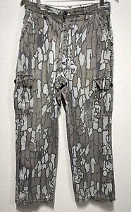 Vintage Winchester Men's Camo Pants TreBark Tree Bark Camouflage Hunting W32xL30