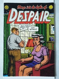 Despair Robert Crumb  7th Print 1983 Last Gasp Underground Rare