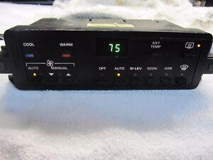 Corvette digital dash Climate control cluster Rebuilt 86 87 88 89 C4