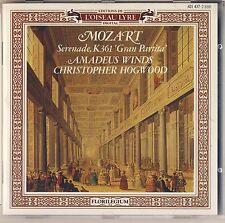 "Mozart - Hogwood: Serenade ""Gran Partita"" (CD, L'Oiseau-Lyre) Like New"