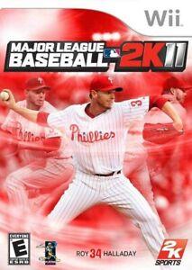 Major League Baseball 2K11 - Nintendo  Wii Game