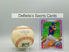 New listing 2021 Topps Chrome Jeff McNeil #214 Pink Sparkle 210/350 METS