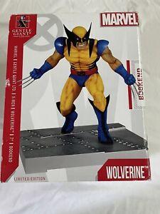 wolverine bookend  Statue 483/500 gentle giants marvel