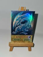Blue Eyes w. Dragon Yugioh Custom Proxy Anime Card In Holo Orica Yu-Gi-Oh Proxy
