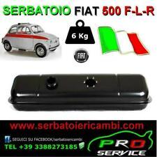 SERBATOIO FIAT 500 F-L-R  6Kg benzina NUOVO made in ITALY