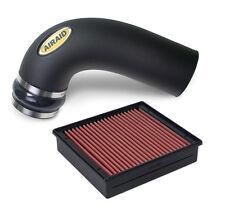 Fit 2003-2007 Ram 2500 5.9L I8 Chrome Cold Air Intake+Heat Shield+Black Filter