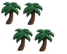 Jesse James Buttons - Dress It Up - GLITTER PALM TREES ~ Sewing ~ Craft ~ Beach