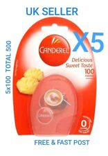 500 x Canderel Tablets Sugar Substitute Low Zero Calorie Sweetener Tea & Coffee