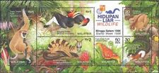 Malaysia 1996 Malaysia Wildlife M/S MNH overprint HK EXPO 1997