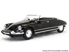CITROEN DS 19 CABRIOLET 1:24 Scale Metal Diecast Car Model Die Cast Models Black