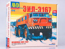 ZIL 167 Unassembled Kit AVD Models by SSM 1:43