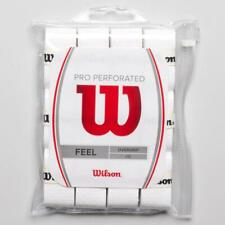 BRAND NEW Wilson Pro Overgrip Perforated 12 Pack - White
