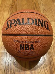Spalding NBA Official Game Ball  David Stern  MJ 90s-2000s Era Ball  Very Rare!!