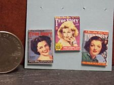 Dollhouse Miniature Vintage Magazines Books ts 1:12 Scale H114  Dollys Gallery