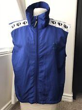 Pearl Izumi Blue Windproof Cycling Vest Mesh Back Size Med Full Zip Techincal