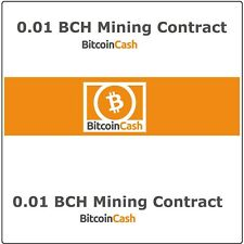 Bitcoin-Cash(0.01 BCH) Mining Contract 3 Hours Get 0.01 BCH Guaranteed