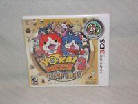 NEW Factory Sealed Yo-Kai Watch 2 Fleshy Souls (Nintendo 3DS) Rated E 10+ Level5