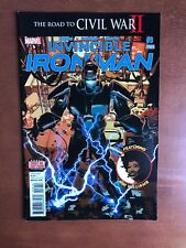 Invincible Iron Man #9 (2016) 9.2 NM Marvel Key Issue Comic 2nd Printing Variant