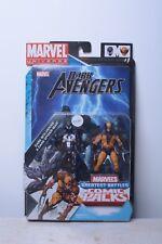 Marvel Universe DARK WOLVERINE & DARK SPIDER-MAN 3.75in Hasbro action figure