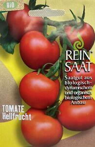 Tomate Hellfrucht - Saatgut - Samen  - Bio - aus biologischem Anbau - ReinSaat