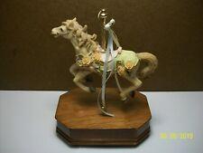 Single Carousel Horse Music Box ( Mahogany Base )