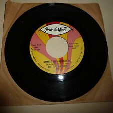 Northern Soul 45 Rpm Disco-Los cinco du Tonos-ONE-DERFUL 4818