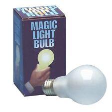 PUSH BUTTON MAGIC LIGHT BULB! Halloween Uncle Fester Costume Party Magic Trick