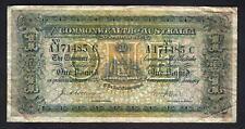 Australia R-18e. (1913) Collins/Allen - One Pound.. Prefix A, Suffix C..  Fine