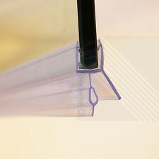 Bath Shower Screen Door Seal Strip | Glass Thickness 4mm - 6mm | Seals Gap 16mm