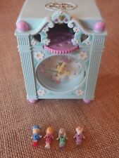 Vintage Polly Pocket Bluebird 1991 Funtime Clock Complete F1