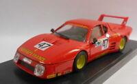 Brumm 1/43 Scale Metal Model - R213 FERRARI 512 BB LE MANS 1981