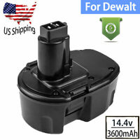 14.4V Upgraded for Dewalt DC9091 14.4Volt XRP Battery Ni-Mh DW9094 DW9091 DE9038
