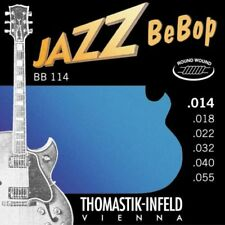 Thomastik BB114 Roundwound Jazz Bebop Medium Electric Guitar Strings