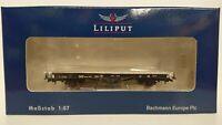 Bachmann Liliput L221562 Low Flat Wagon DB Xflm 477 014 HO 1/87 Period III NEW