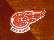 DETROIT RED WINGS Vintage Old NHL RUBBER Hockey FRIDGE MAGNET Standings Board