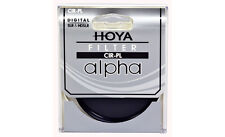 Hoya 77mm ALPHA Circular Polarizer CPL CRPL Cir-PL Glass Filter - Brand New