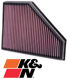 K&N REPLACEMENT AIR FILTER FOR BMW X SERIES X1 N47D20 N47D20T0 2.0L I4